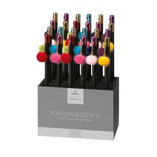 Μολύβι Ξύλινο Pom-Pom Moses HB (1 Τεμάχιο)  M80842