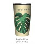 Κούπα Bamboo με μεταλλικό καπάκι Slide Cup Jungle Out There