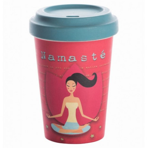 Κούπα Bamboo Cup - Yoga Love