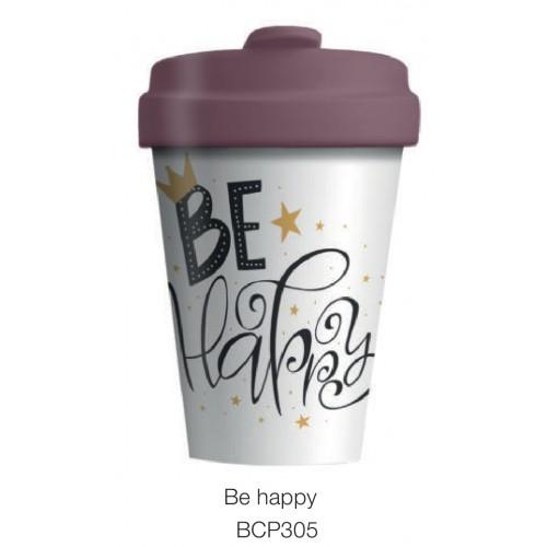 Κούπα BambooCup Be Happy